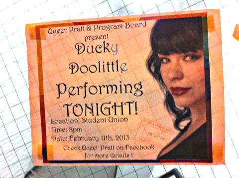 ducky doolittle campus university